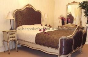 Versailles Upholstered Bed Single